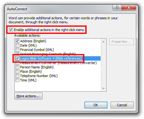 Word 2010 AutoCorrect Options
