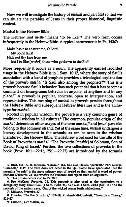 an analysis of the parables of jesus in the gospels This book, interpreting the parables is an attempt to a) first trace the history of parable interpretation through the centuries and b) then provide an analysis of several new testament parables the book closes with a chapter examining the.