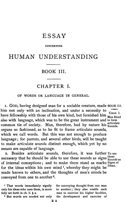 essay concerning human understanding book 2