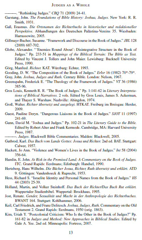 a literary analysis of the old testament The type of literary criticism described below is referred to as narrative criticism,   an introduction to biblical literary forms for bible lovers [mahwah, new.