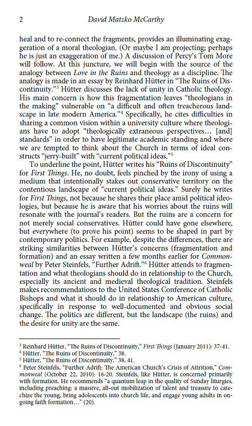 Theology reasch paper