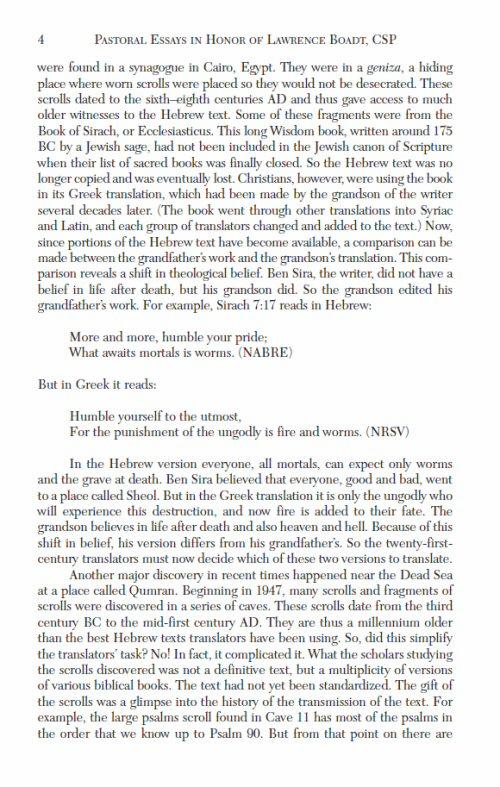 old testament essay questions