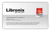 Libronix for the Mac splash screen