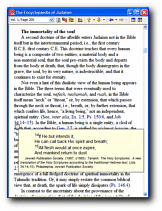 Encyclopedia of Judaism - Sample Screenshot
