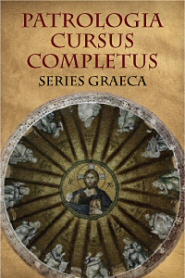 Patrologia Cursus Completus, Series Graeca, Part 1, Coming from Logos