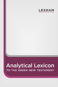 Lexham Analytical Lexicon to the Greek New Testament DOWNLOAD