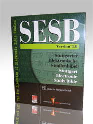 Stuttgart Electronic Study Bible (SESB), Version 3.0