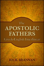 Order my Apostolic Fathers Greek-English Interlinear