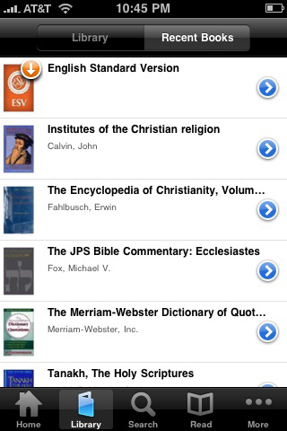 logos bible app screenshot