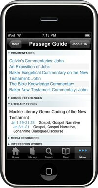 Logos Bible Software iPhone App