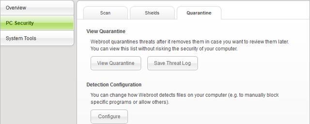 Webroot Example