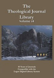 Theological Journal Library, vol. 14
