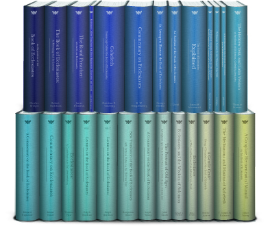 Classic Commentaries and Studies on Ecclesiastes (26 vols.)