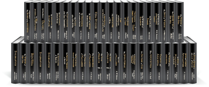 Classic Commentaries and Studies on the Biblical Apocrypha / Deuterocanon (42 vols.)