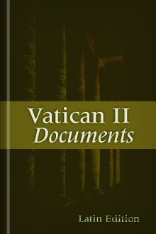 Vatican II Documents (Latin Edition)