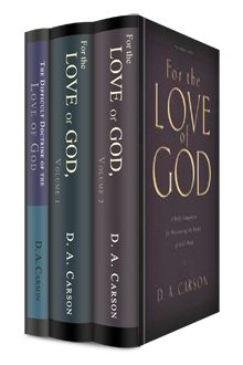 "D. A. Carson ""Love of God"" Collection (3 vols.)"