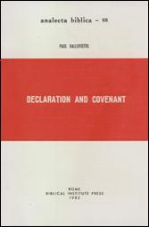 Declaration and Covenant