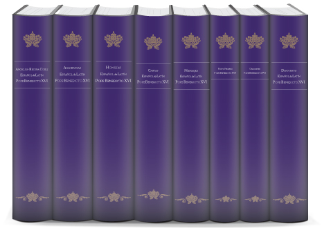 The Homilies, Audiences, and Other Writings of Pope Benedict XVI (Spanish Edition) (8 vols.)