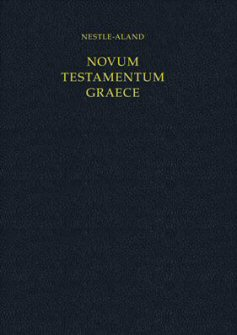 Nestle-Aland, Novum Testamentum Graece