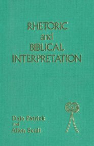 Rhetoric and Biblical Interpretation