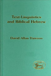 Text-Linguistics and Biblical Hebrew