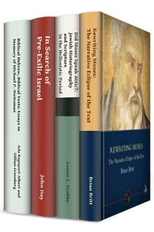 JSOTS on Israel and Moses (4 vols.)