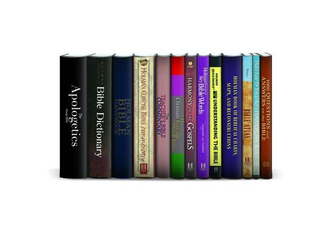 Holman Reference Collection  (13 vols.)