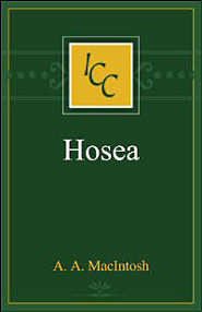 A Critical and Exegetical Commentary on Hosea