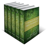 Gnomon of the New Testament (5 vols.)
