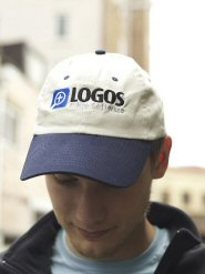 Embroidered Brushed Cotton Twill Logos Cap