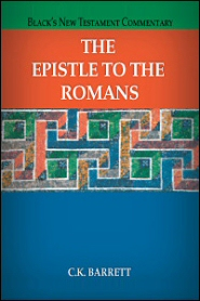 Black's New Testament Commentary: The Epistle to the Romans