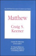 The IVP New Testament Commentary Series: Matthew