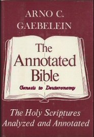 The Annotated Bible, vol. 1: Genesis to Deuteronomy