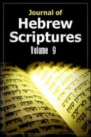 Journal of Hebrew Scriptures, vol. 9