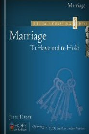 Biblical Counseling Keys on Marriage