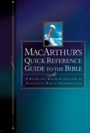MacArthur's Quick Reference Guide to the Bible
