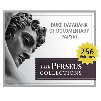 Duke Databank of Documentary Papyri (256 vols.)