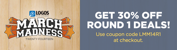 Get 30% off round 1 deals! Use coupon code LMM14R1 at checkout.
