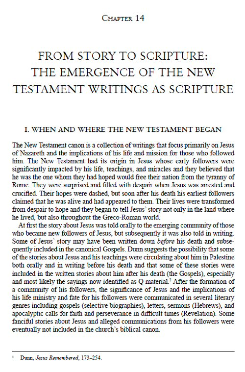 an overview of the formation of the biblical canon New testament canon: our current new testament to be the canon of christian scripture summary of exploring the origins of the bible: canon formation in.