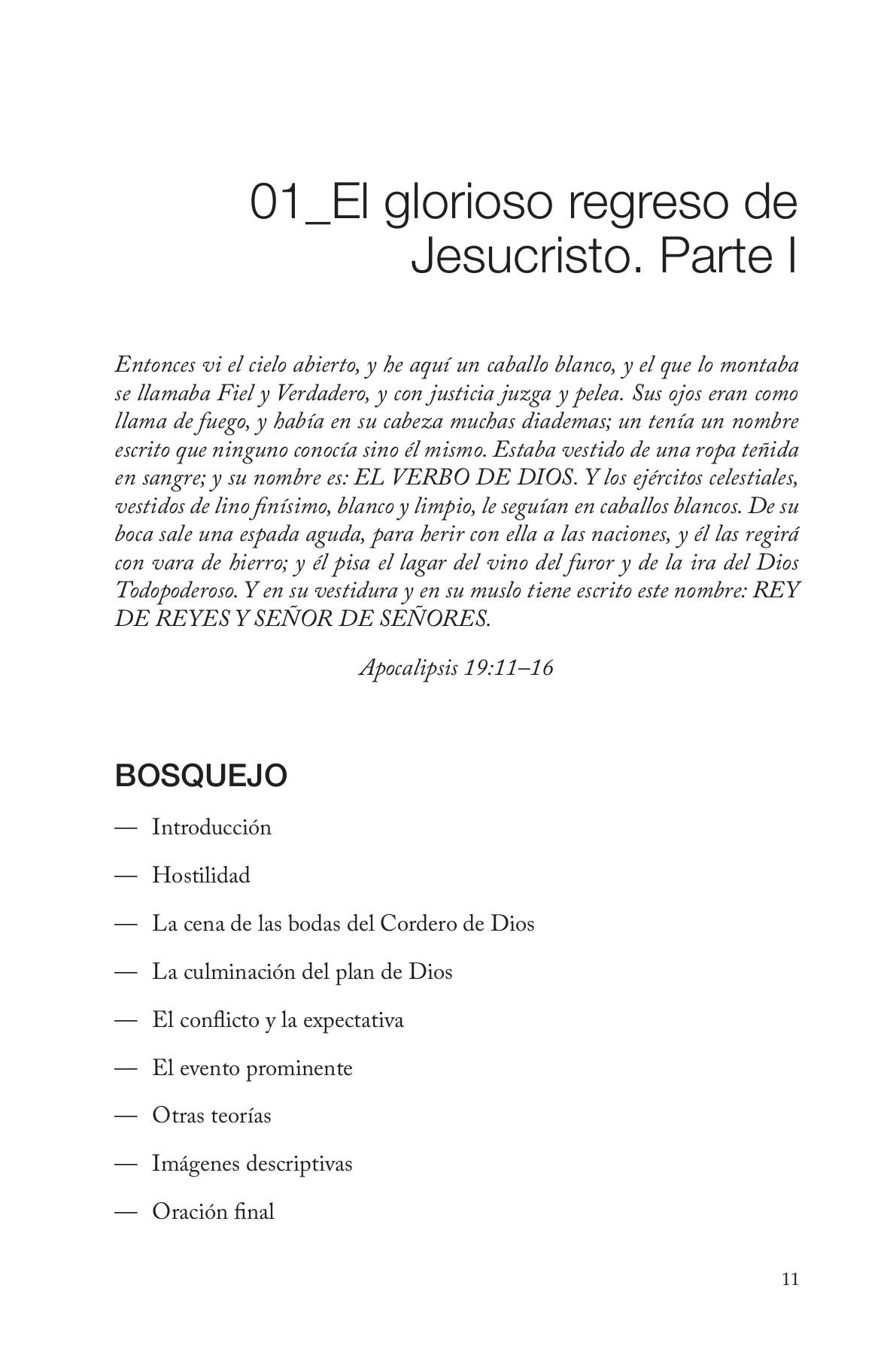 Bosquejos temáticos de la biblia