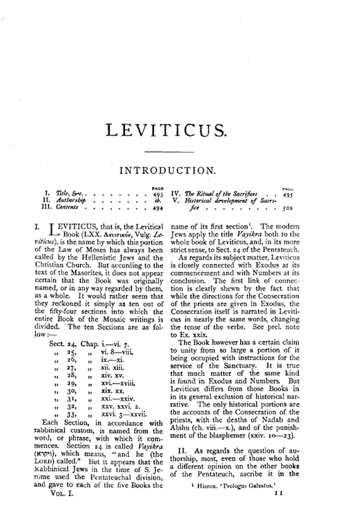 leviticus essay Leviticus 22:24: a prohibition of gelding for the land of israel elaine adler  goodfriend   the present book clusters essays on current issues in priestly  and.