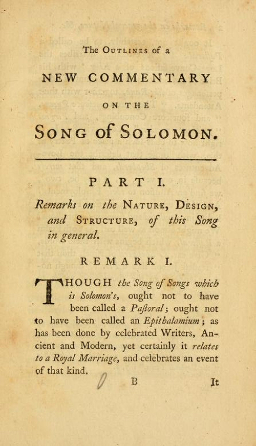 classic commentaries and studies on the song of songs vols  sample pages