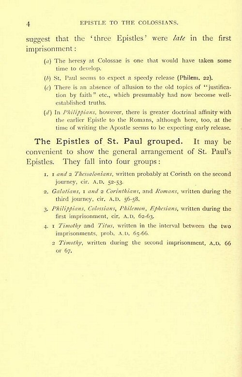 An Analysis of Paul's Letter to Ephesians