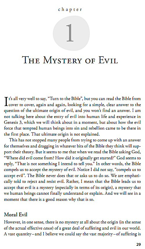 bible references on good and evil essay If god is great and god is good, then why would he allow evil to exist the problem of evil - a biblical the bible proclaims the existence of a good and.