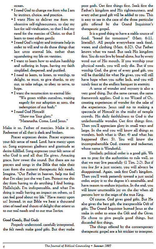 Journal of Biblical Counseling (84 issues) | Logos Bible