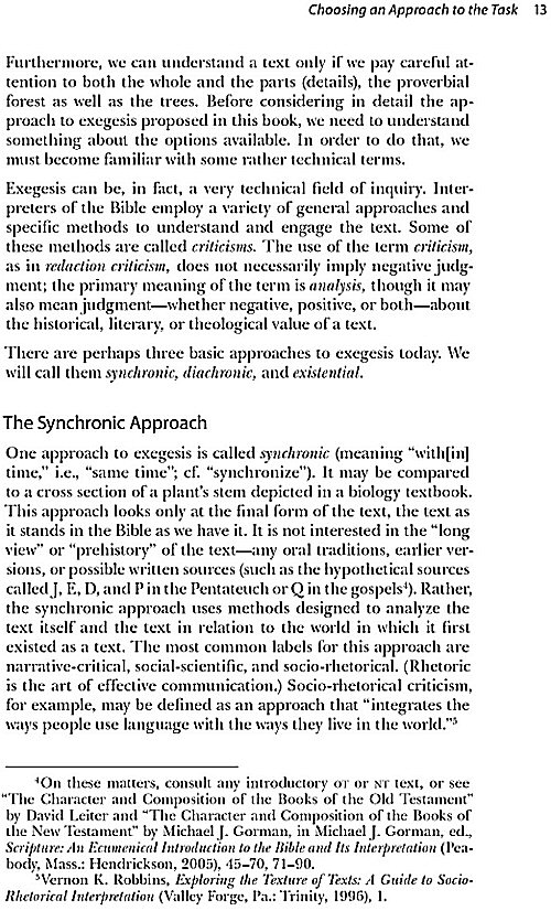 Elements Of Biblical Exegesis A Basic Guide For Students