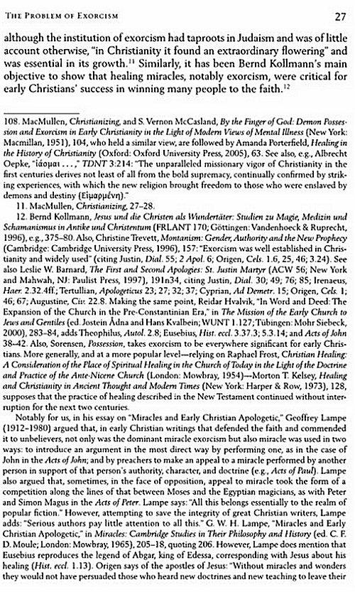 early christian writings essay