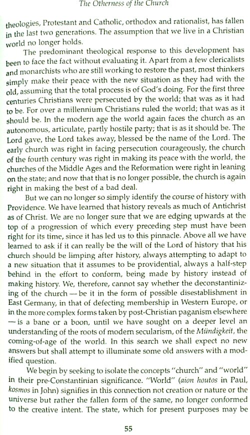 ecclesiological ecumenical essay priesthood royal This collection of 17 essays on themes ecclesiological and ecumenical is intended to demonstrate the substantial unity of yoder's work over the past four decades many of these essays are often cited by researchers but have been till now unobtainable three of these texts have never been published.