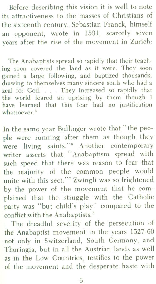 living the anabaptist story a guide to early beginnings with questions for today