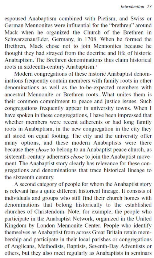 Anabaptist And Mennonite Studies Collection  Vols  Logos  Becoming Anabaptist The Origin And Significance Of Sixteenthcentury  Anabaptism